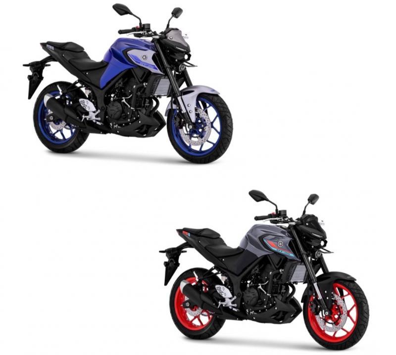 Kini giliran Sport Naked Bike MT-25 meluncur dengan warna dan grafis baru memenuhi kebutuhan konsumen yang selalu ingin tampil gagah dan sporty.