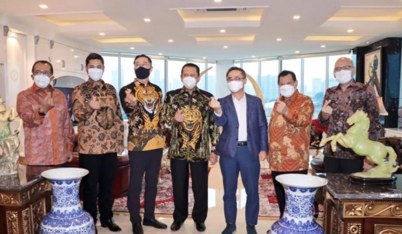 Bamsoet bersama para direksi Hyundai, komitmen percepatan kendaraan listrik di Indonesia