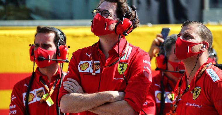 Mattia Binotto (Team Principal Ferrari), berani mengambil resiko untuk tujuan jangka panjang. (Foto: ist)