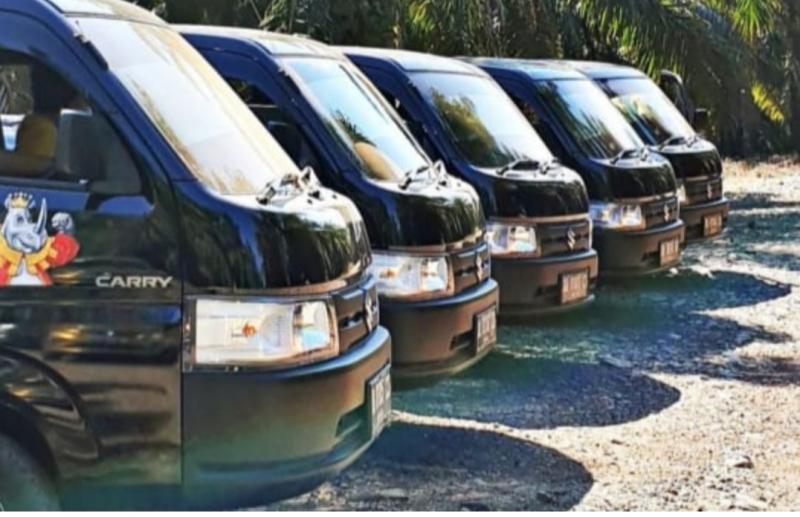 Suzuki New Carry Pick Up menjadi produk unggulan PT Suzuki Indomobil Sales di masa pandemi ini. (foto : dok pt sis)
