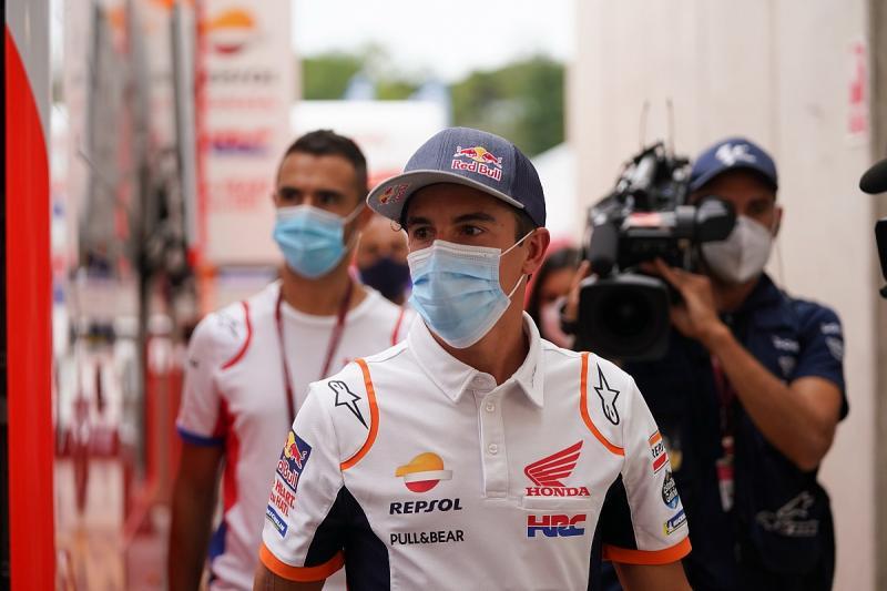 Marc Marquez (Spanyol/Repsol Honda), kini berada dalam situasi klinis menguntungkan. (Foto: motorsport)