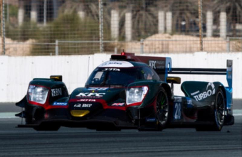 Sean Gelael sempat memimpin terdepan sebelum insiden senggolan dengan pembalap LMP3 Jan Erik Slootan