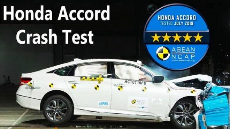 Uji tabrak sedan Honda Accord menerima penghargaan ASEAN NCAP Grand Prix Awards 2020