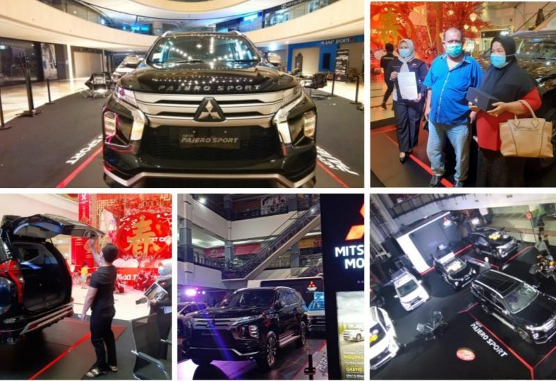 Mitsubishi New Pajero Sport diluncurkan di berbagai kota di Tanah Air