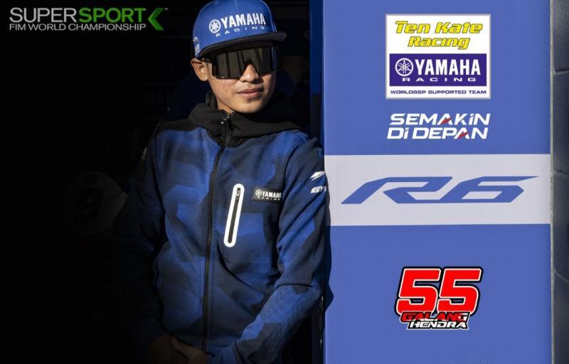 Galang Hendra rider asal Yogyakarta ditargetkan masuk 10 besar kejuaraan dunia WSSP600 2021