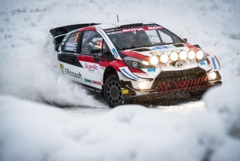 Lintasan salju dan es di pinggir Lingkaran Arctic, Rally Arctic 2021 yang menggantikan Rally Swedia tahun ini. (Foto: fia)