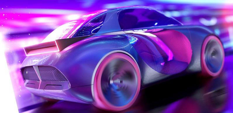 Tampilan futuristik konsep mobil Hyundai bersama Blackpink
