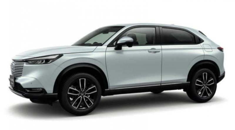 All New Vezel e: HEV menghadirkan gaya SUV yang khas serta desain terinspirasi dari coupe yang kompak