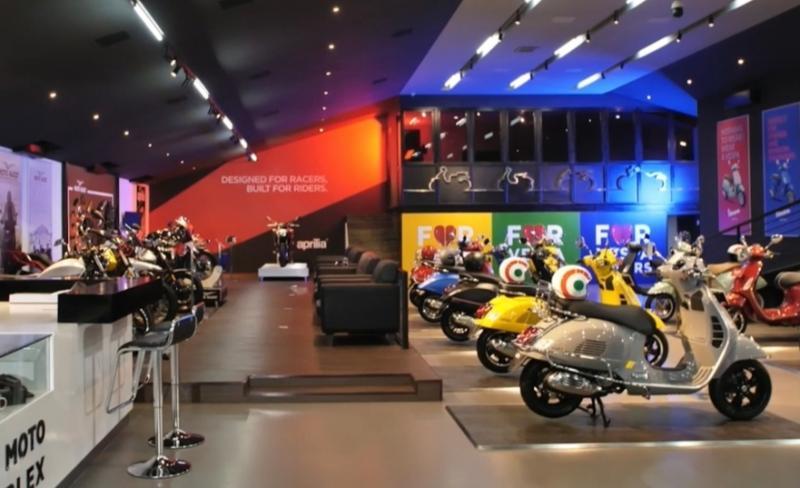Line up Piaggio Group kombinasi motobike dan skuter yang diminati konsumen di seluruh dunia