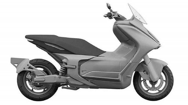 Model konsep motor listrik Yamaha E01, salah satu motor listrik unggulan Yamaha