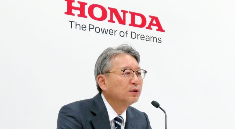 Toshihiro Mibe, Presiden Honda Motor Co. Ltd yang baru meneruskan Takahiro Hachigo