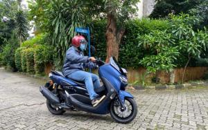 Testimoni Bayu Krisna kenapa akhirnya memilih All New NMax 155 Connected/ABS untuk kendaraan hariannya