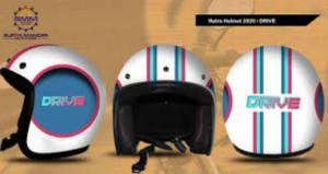 Helm keren hasil kolaborasi GIGAS dan Band Drive untuk para pecinta motor