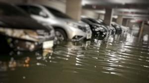 Deretan mobil yang terdampak banjir, Mitsubishi Peduli Banjir siap membantu konsumen Mitsubishi