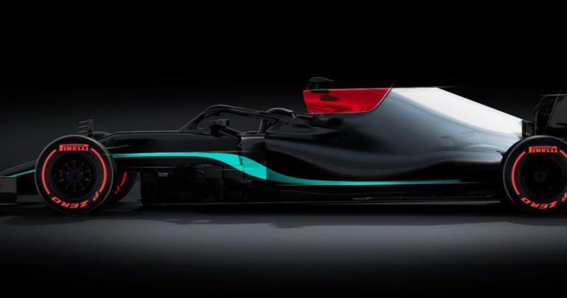 Mercedes W12 besutan duet Lewis Hamilton dan Valtteri Bottas. Benarkah ini livery sesungguhnya? (Foto: planetf1)