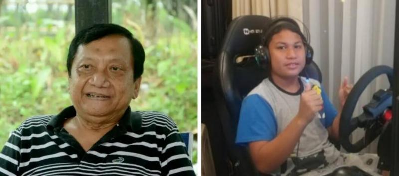 Daffa AB dan sang ayah Irjen Pol (P) Anang Boedihardjo, tempat bertanya dan memberi masukan. (foto : kolase)