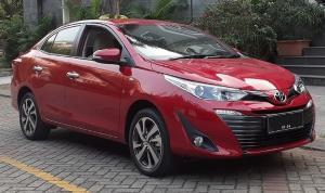 Model Toyota Vios yang mendapat relaksasi PPnBM 0%