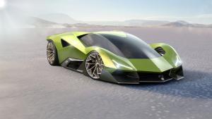 Desain baru Lamborghini Matador menampilkan model futuristik sebagai model masa depan