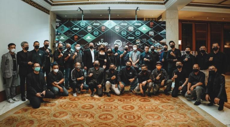 Komunitas Jeep Indonesia gala dinner dengan PT DAS Indonesia Motor