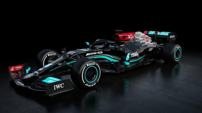 W12 besutan Lewis Hamilton dan Valtteri Bottas di musim balap F1 2021. (Foto: mercedes)