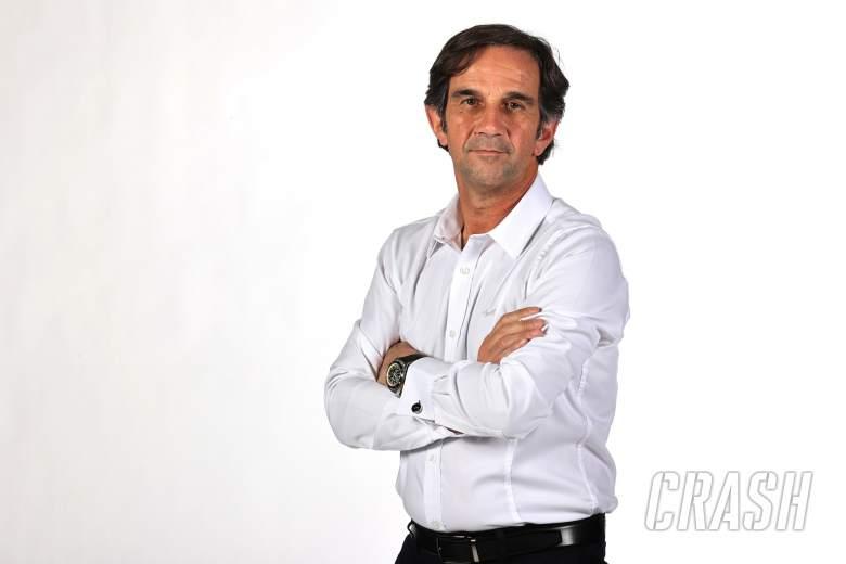 Davide Brivio (Racing Director Alpine F1), butuh tantangan di luar MotoGP. (Foto: crash)