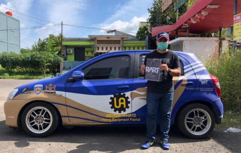 Valentino Ratulangi dikontrak sebagai pelatih tim slalom RART Serang Banten, andalkan Toyota Etios dan ban GT Radial di Kejurnas Auto Gymkhana
