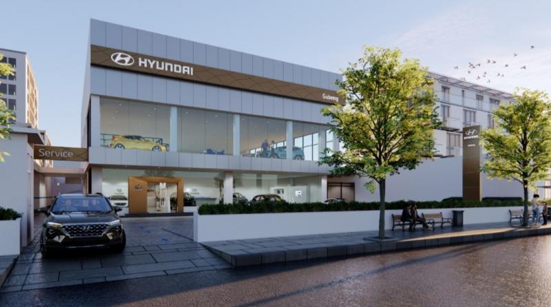 Hyundai Gubeng di Surabaya, satu dari 3 dealer baru yang diresmikan PT Hyundai Motors Indonesia