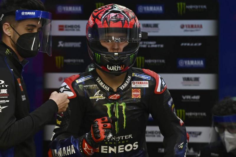 Fabio Quartararo (Prancis/Yamaha). (Foto: therace)