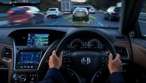 Salah satu teknologi canggih yang ditambahkan adalah fungsi Traffic Jam Pilot, teknologi yang memenuhi syarat untuk mengemudi otomatis level tinggi