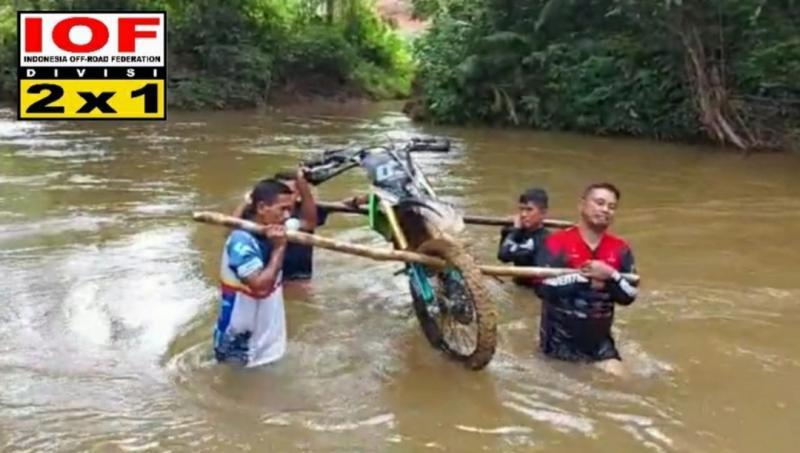 Private Expert Hard Enduro akan diikuti riders profesional di Tanah Air. (foto : ende)