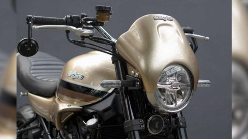 Tampilan keren Kawasaki Z900 RS Cafe Racer Hasil modifikasi Katros Garage