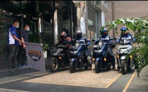 Virtual touring sepeda motor pertama di Indonesia bertajuk Maxi Yamaha Virtual Touring 2021 resmi dimulai
