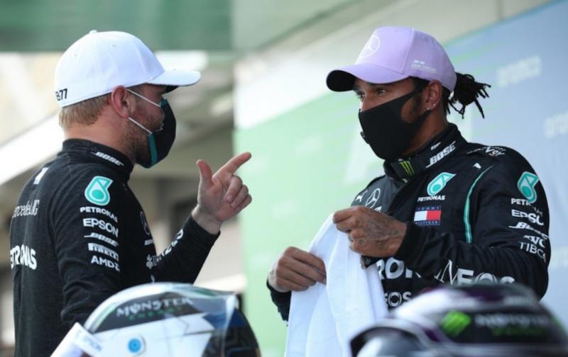 Valtteri Bottas (kiri) bersama Lewis Hamilton, tiba saatnya mementingkan diri sendiri. (Foto: planetF1)
