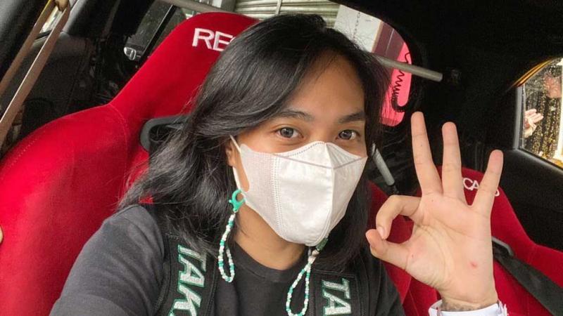 Tasa Ayu Saputri apresiasi penerapan Prokes selama balapan di Sentul (Foto: ist)