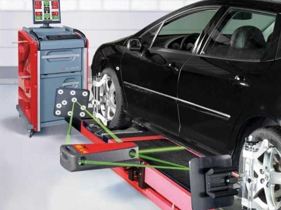 Mobil mendapatkan balancing atau spooring untuk memberikan kenyamanan berkendara pada penumpang