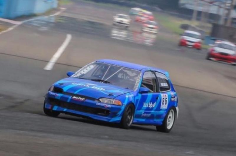 Blue Estilo andalan Umar Abdullah, siap gas pol di Kejurnas ISSOM round 1, Sentul International Circuit, 27-28 Maret 2021. (Foto : luwnclickmedia)