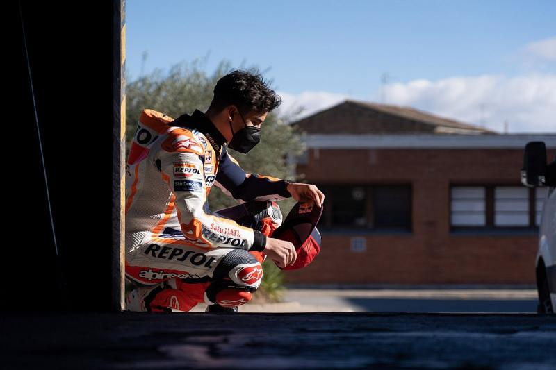 Marc Marquez (Spanyol/Repsol Honda), dinyatakan fit untuk ikut GP Qatar 2021. (Foto: hrc)
