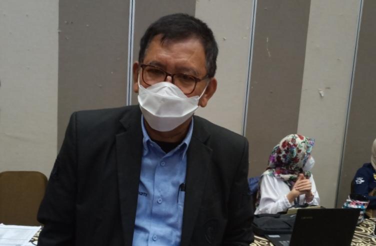PLT Ketum IMI Jateng M Riyanto bertekad akan menjalankan tugasnya secara netral dan adil. (foto : bs)
