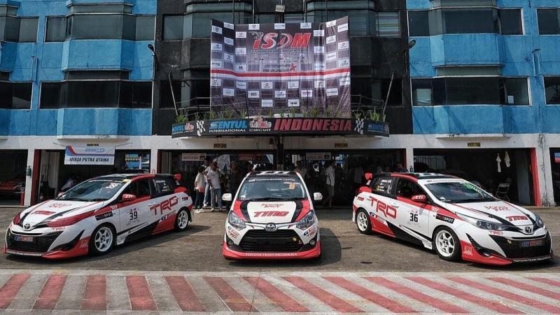 Toyota Team Indonesia siap tempur pada ISSOM 2021 di Sentul International Circuit