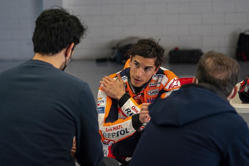 Marc Marquez (Spanyol/Repsol Honda) dipastikan absen pada seri pembuka kompetisi 2021 di Qatar. (Foto: motorsport)