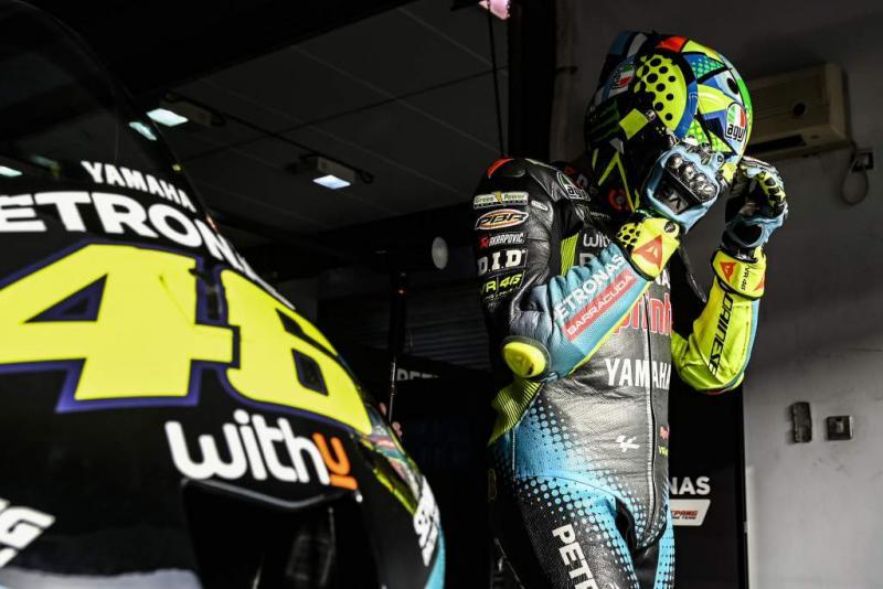 Valentino Rossi (Italia/Petronas Yamaha Srt), penentuan di tengah musim 2021. (Foto: therace)