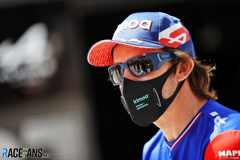 Fernando Alonso (Spanyol/Alpine). (Foto: racefans)