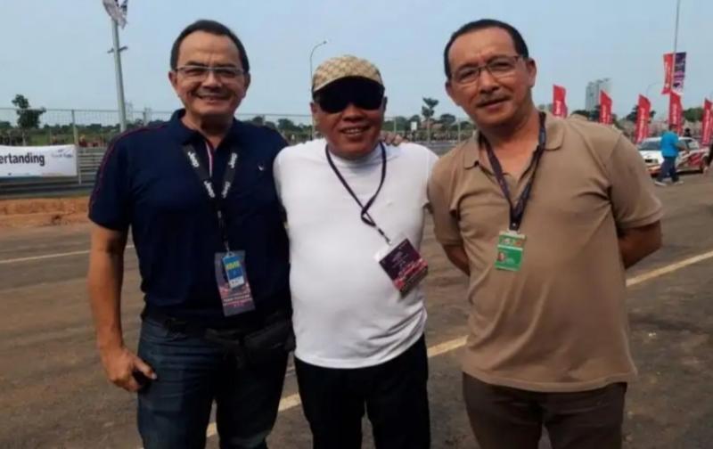 Trio bos dan promotor ETCC dari kiri Andre Dumais, Titus Wahyudi dan Andre Timothy. Foto diambil 2 tahun lalu. (foto : mobilinanews)