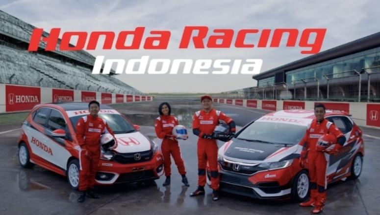 Skuad Honda Racing Indonesia 2021 : Alvin Bahar, Avila Bahar, Canya Prasetyo (ISSOM) dan Anandyo Dwiky (slalom)