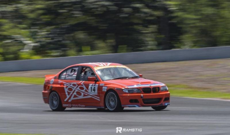 Andi Fardiansyah skuad anyar BMWCCI JCRT, belum sempat test, langsung FP, QTT dan race di kelas ETCC 3000 Novice. (Foto ; Ramstig)