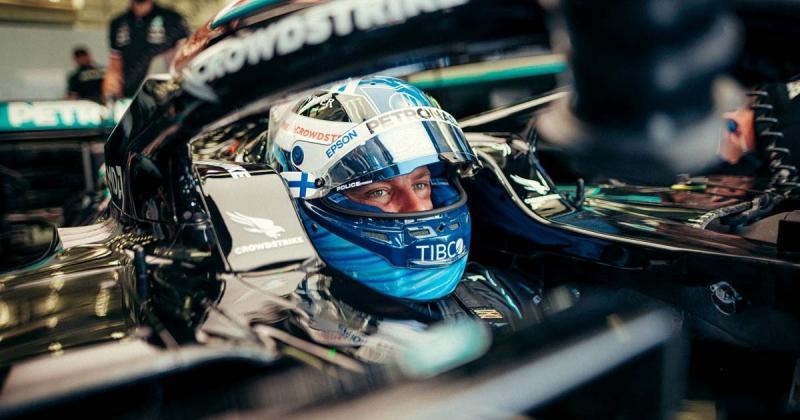 Valtteri Bottas (Finlandia/Mercedes), mulai tunjukkan diri jadi pemberontak di skuad Mercedes. (Foto: planetf1)