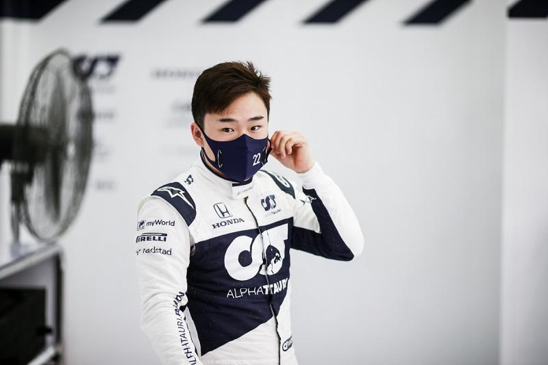 Yuki Tsunoda (Jepang/AlphaTauri). (Foto: motorsport)