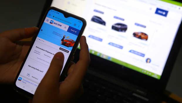 Aplikasi ACC ONE yang memudahkan akses kredit untuk pembelian mobil secara digital