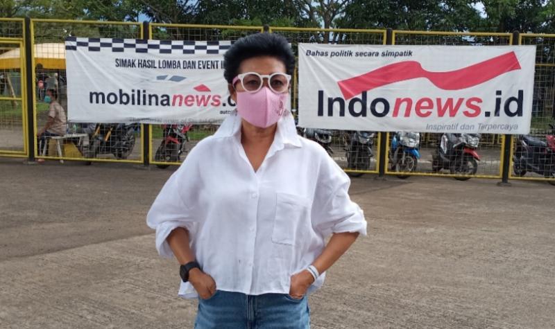 Lola Moenek, pastikan Kejurnas balap mobil ISSOM 2021 berlangsung 6 putaran di Sentul. (foto : bs)