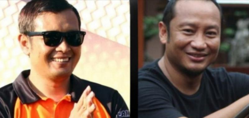 Frits Yohanes (kiri) dan Wasono Nugroho, dua kandidat Ketum IMI Jateng periode 2021-2024. (foto : kolase)